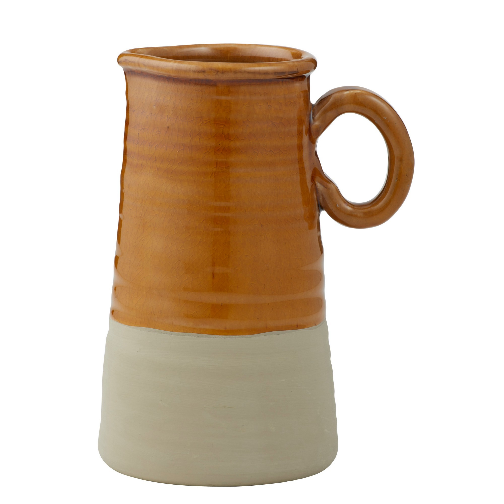 Poe Terracotta Pitcher Vase