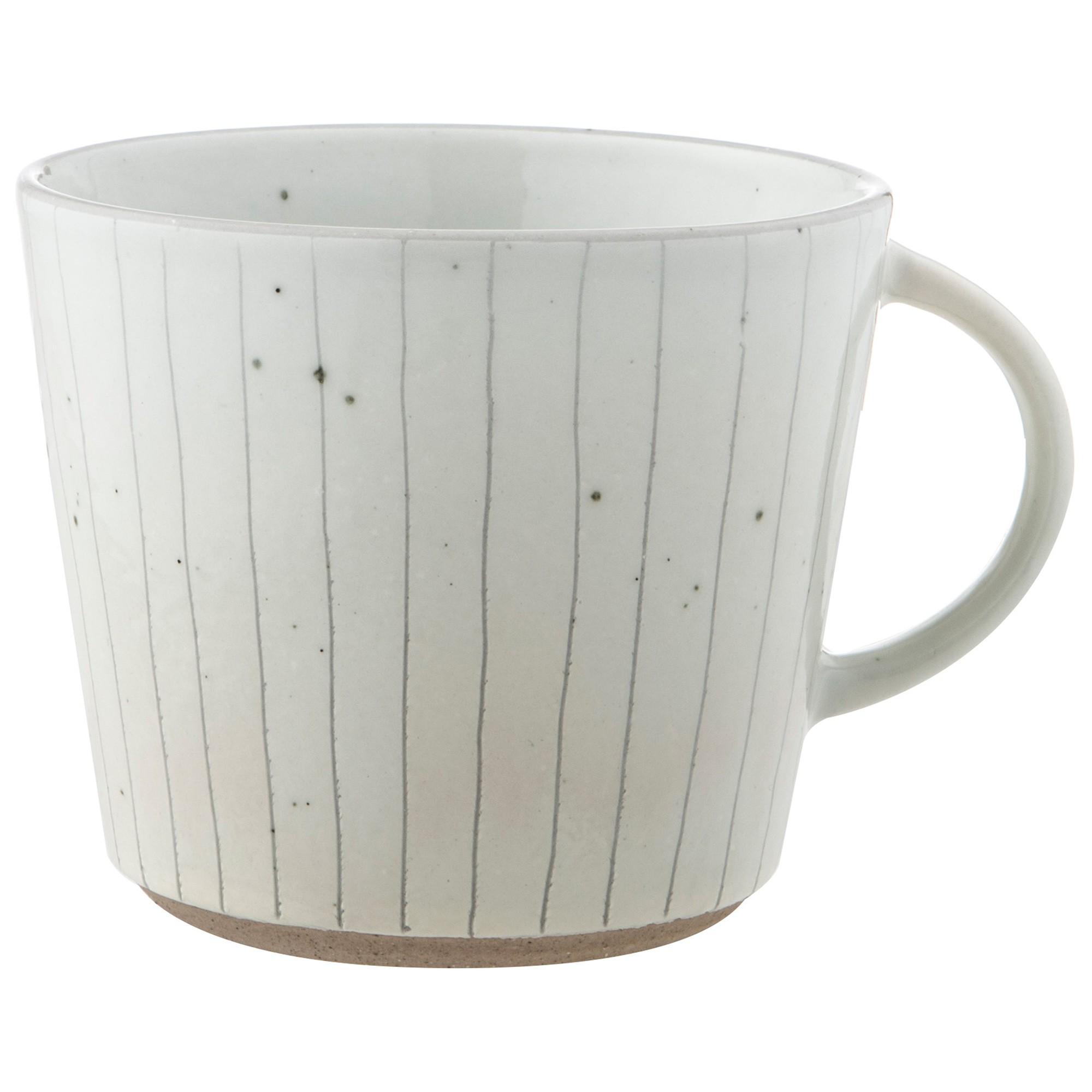 Pinstripe Ceramic Mug