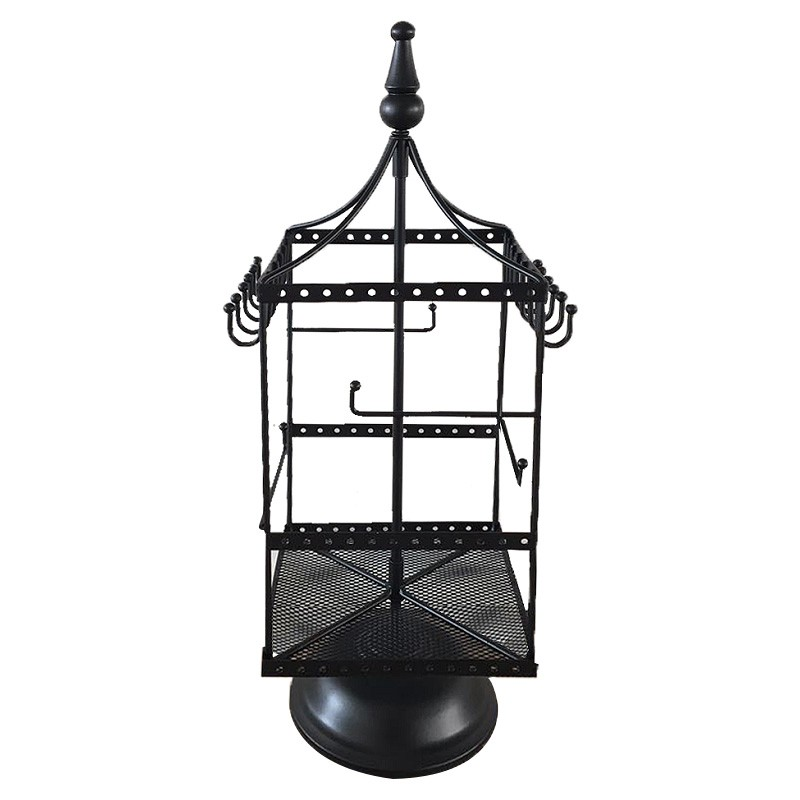 Carine Metal Jewellery Stand, Black
