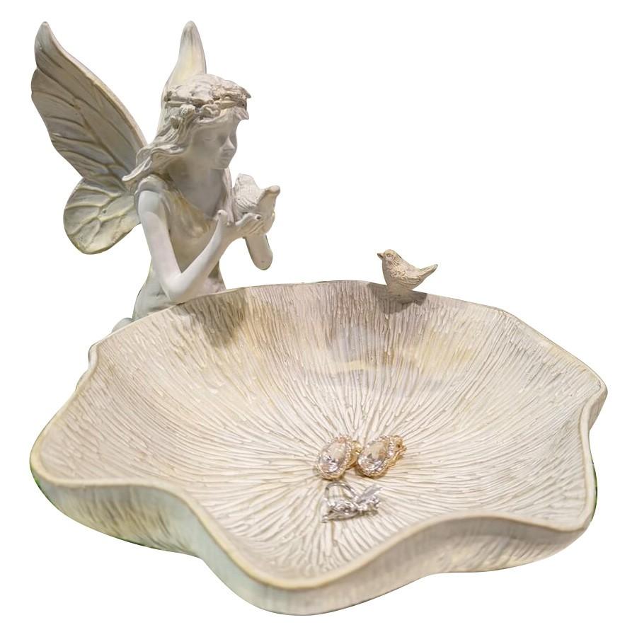 Flower Fairy & Leaf Jewellery Tray