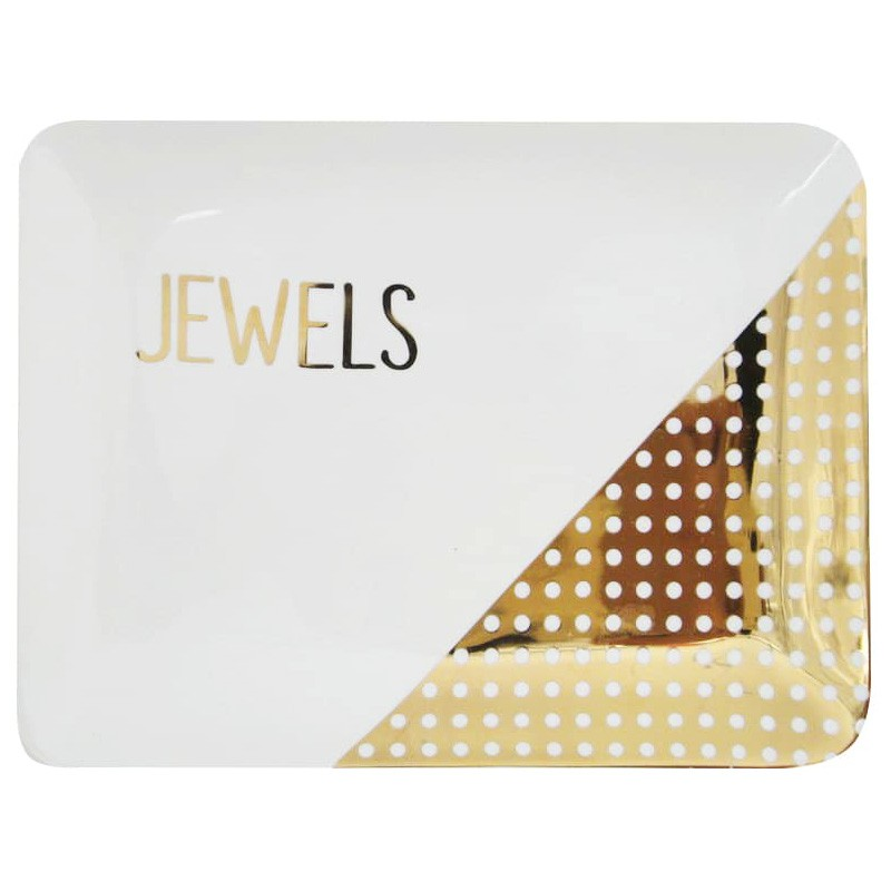 Jewels Ceramic Trinket Dish