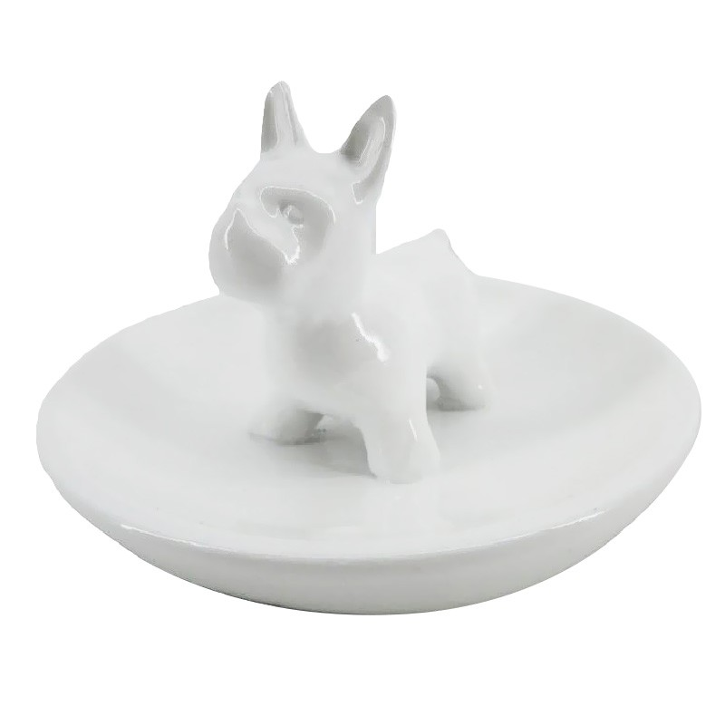 French Bull Dog Ring Holder
