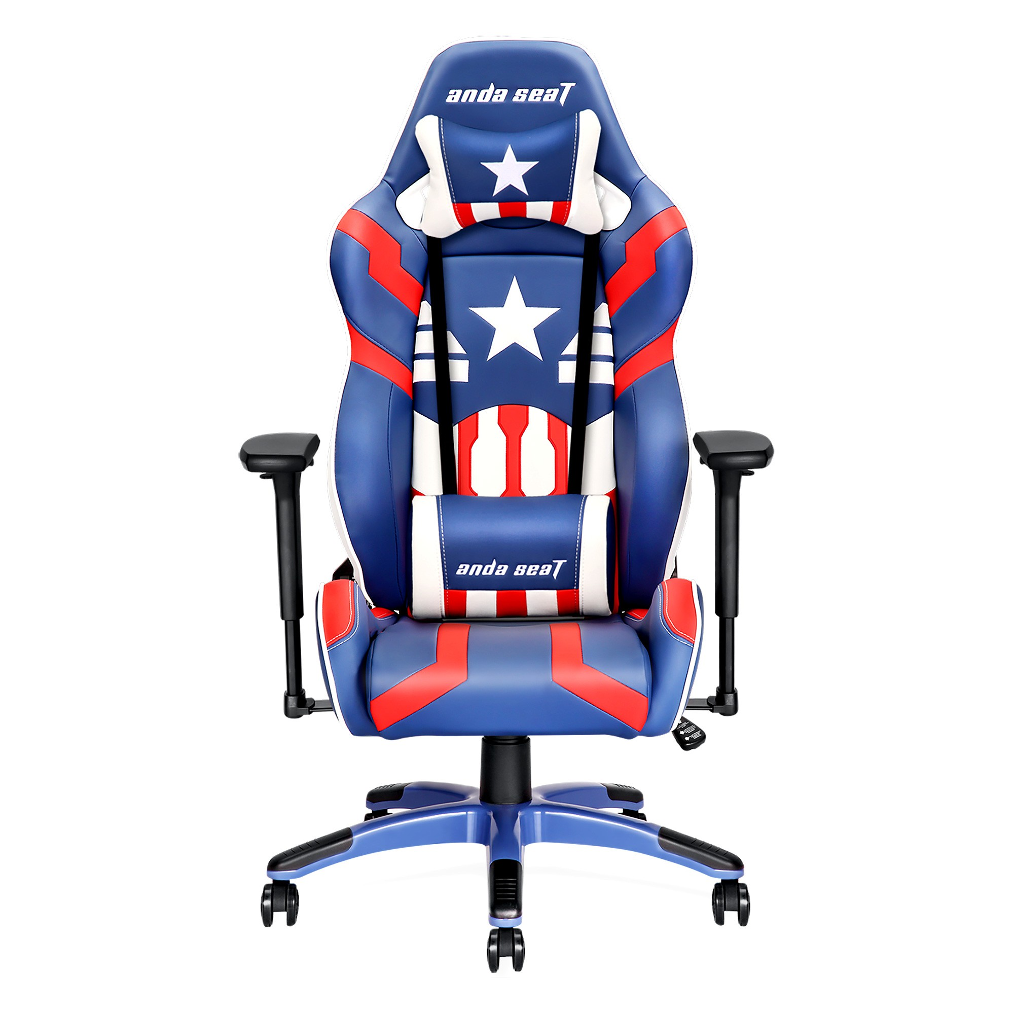 Anda Seat AD7 Gaming Chair, White Star Special Edition