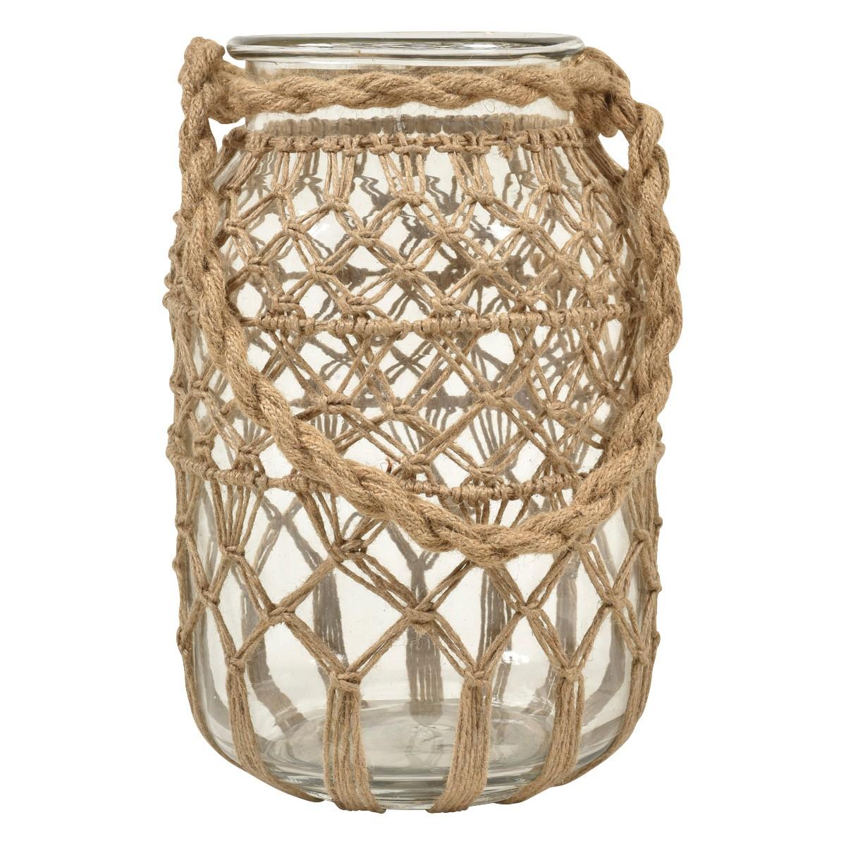 Roosa Rope Net Jar, Medium