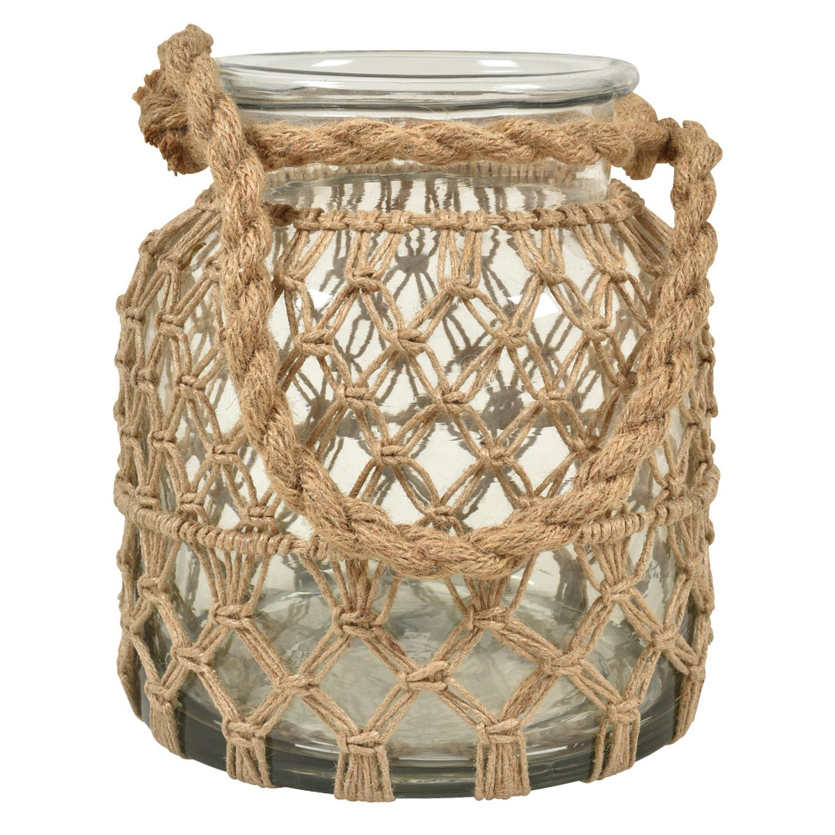 Roosa Rope Net Jar, Small