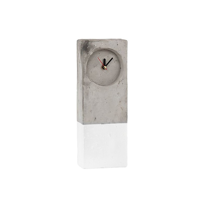 Moreton Concrete Table Clock