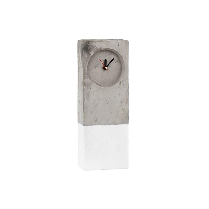 Moreton Concrete Table Clock