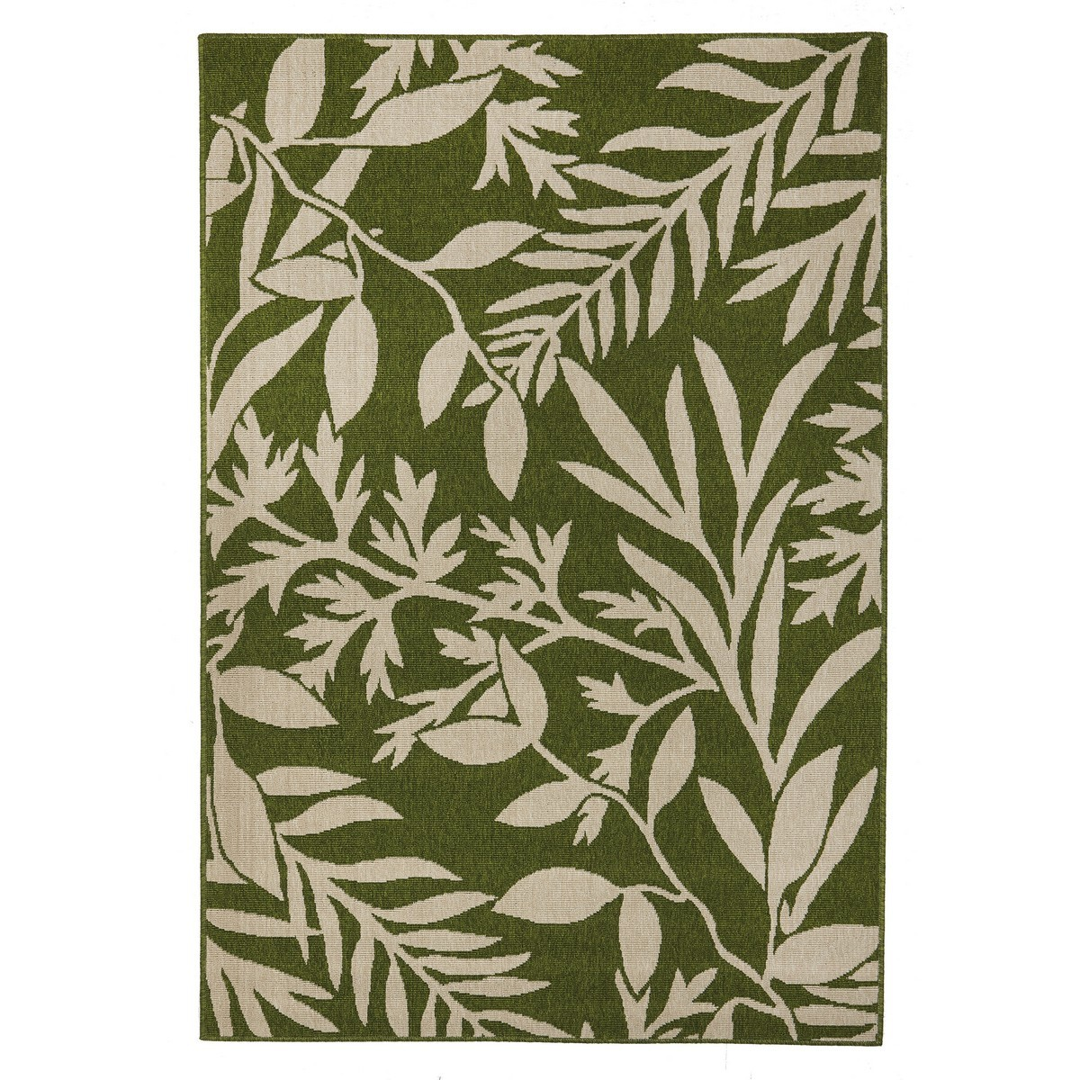 Alfresco Malibu Egyptian Made Outdoor Rug, 160x110cm, Green