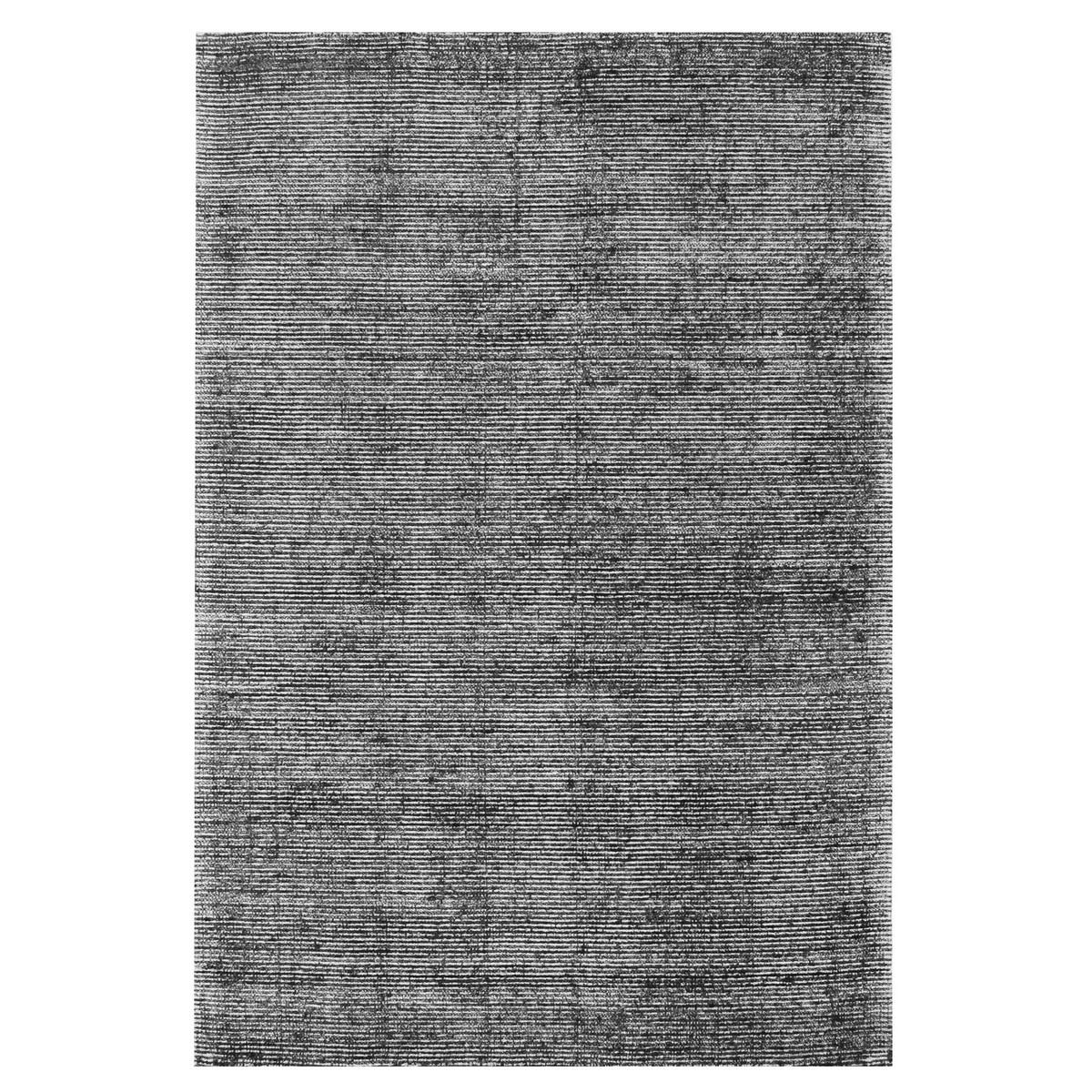 Allure Cloud Hand Loomed Modern Rug, 320x230cm, Black