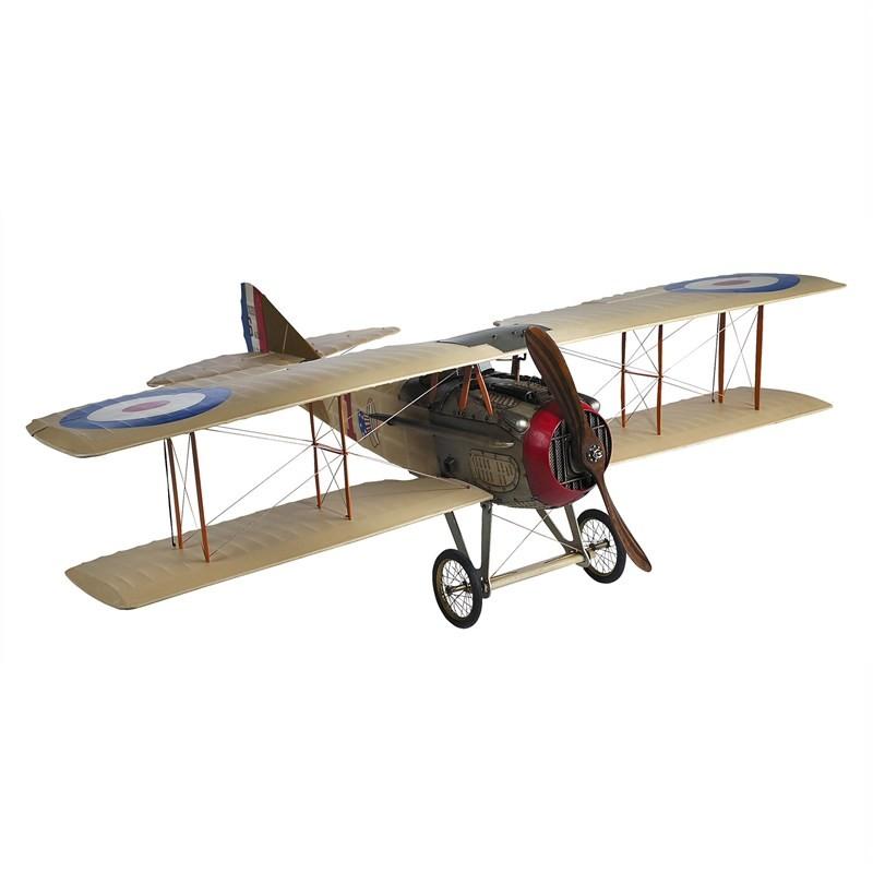 Spad XIII Classic Eddie Rickenbacker Airplane Scale Model