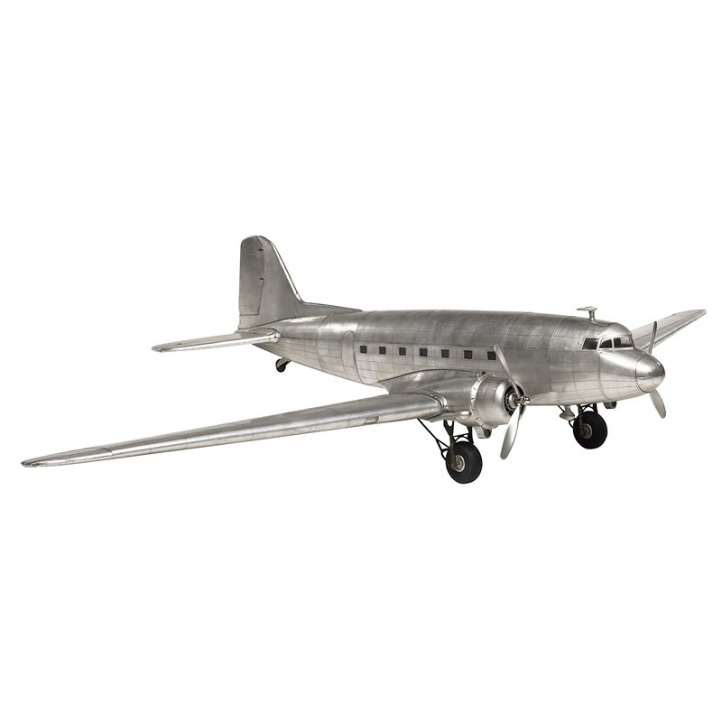 Douglas Dakota DC-3 Airplane Aluminium Scale Mode
