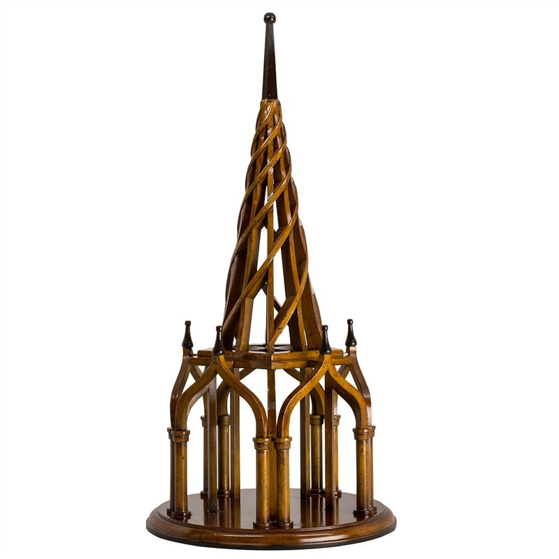 Nirvana Spire Solid Timber Architectural Model