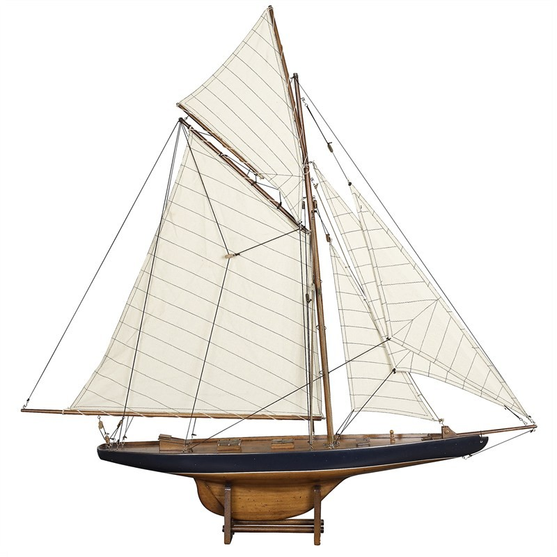 1901 Americas Cup Columbia Yacht Model - Small