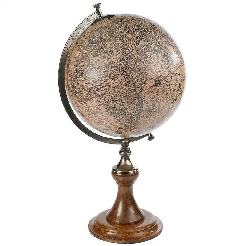 Hondius 1627 Tabletop Globe