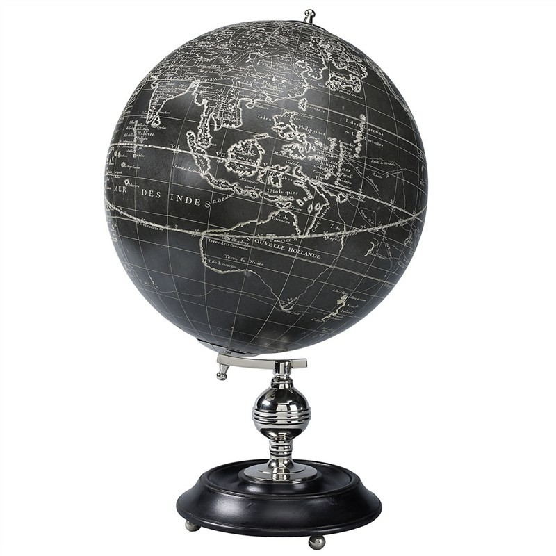 Vaugondy 1745 Noir Tabletop Globe