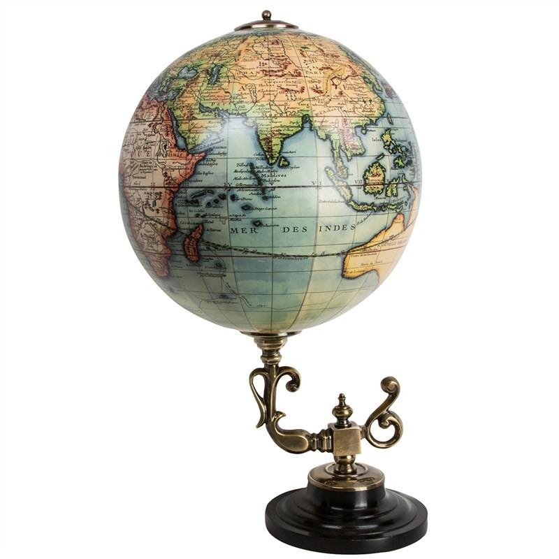 Handmade Vaugondy Baroque Museum Globe Replica