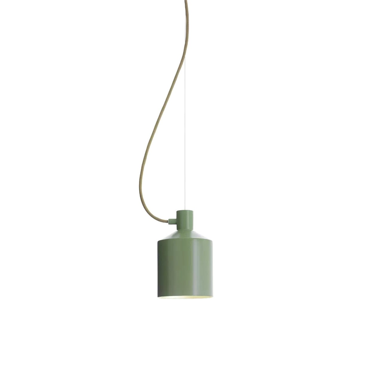 Replica Note Design Studio Silo Pendant Light, Green