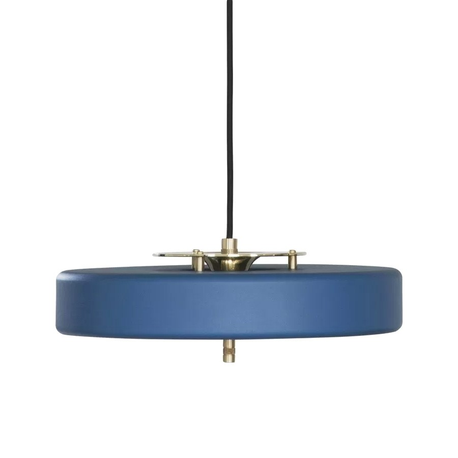 Replica Bert Frank Revolve Pendant Light, Blue