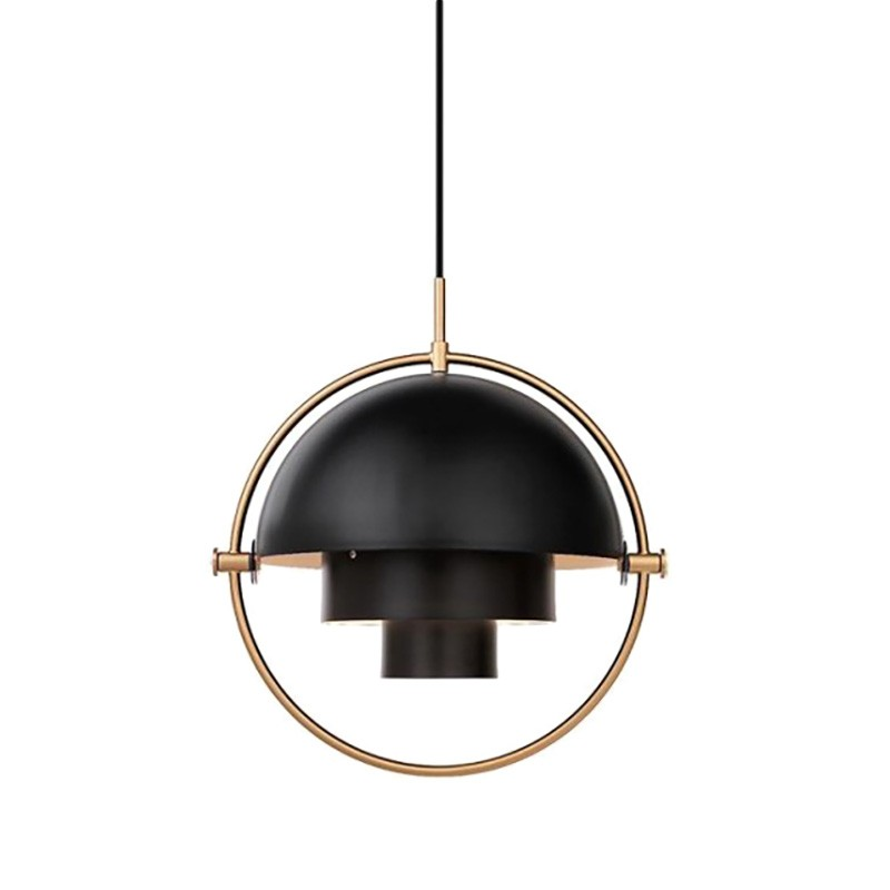Replica Louis Weisdorf Multi-Lite Pendant Light, Black