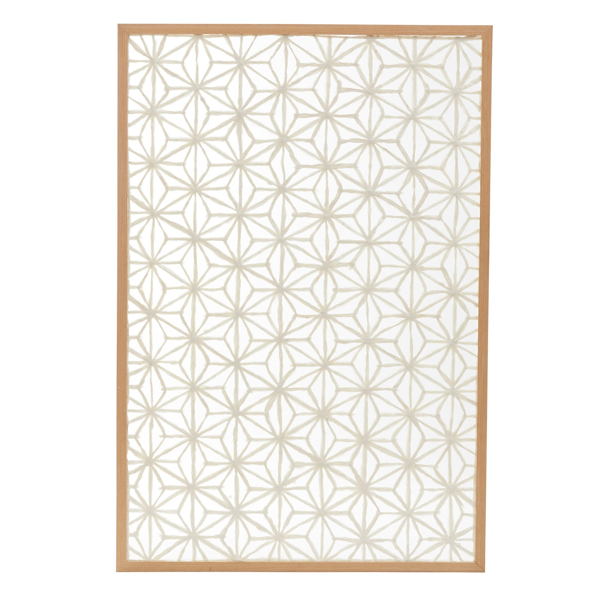 Ashland Framed Paper Art Wall Decor, 124cm