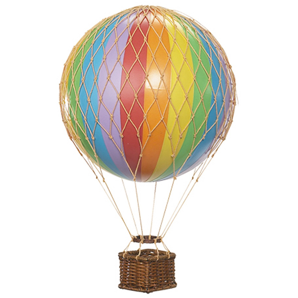Floating The Skies Hot Air Balloon Model, Rainbow