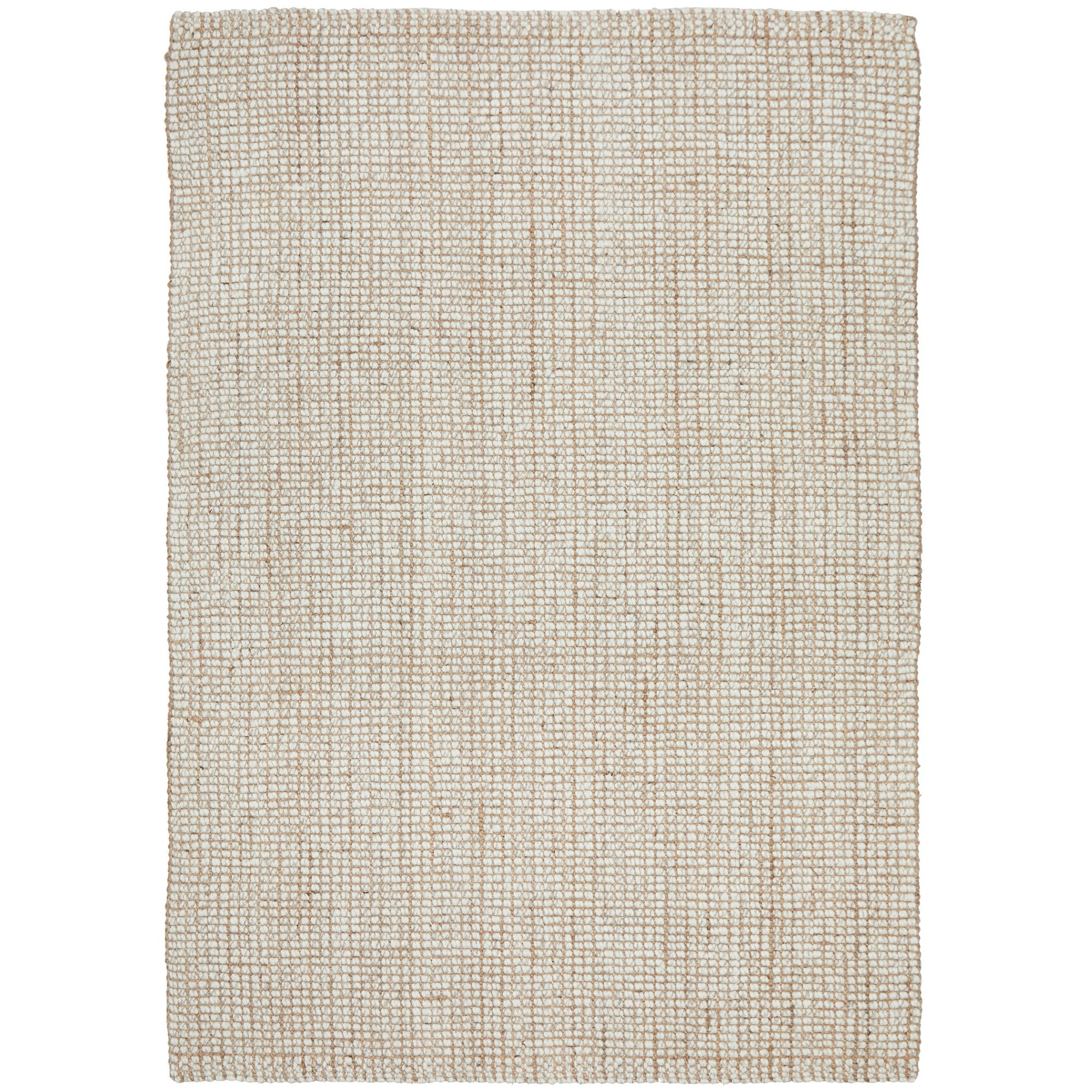 Arabella Hand Loomed Wool & Jute Rug, 400x300cm, Cream / Natural