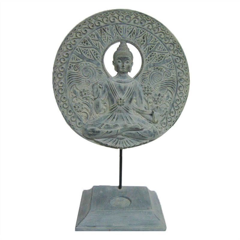Buddha Resin Tealight Holder