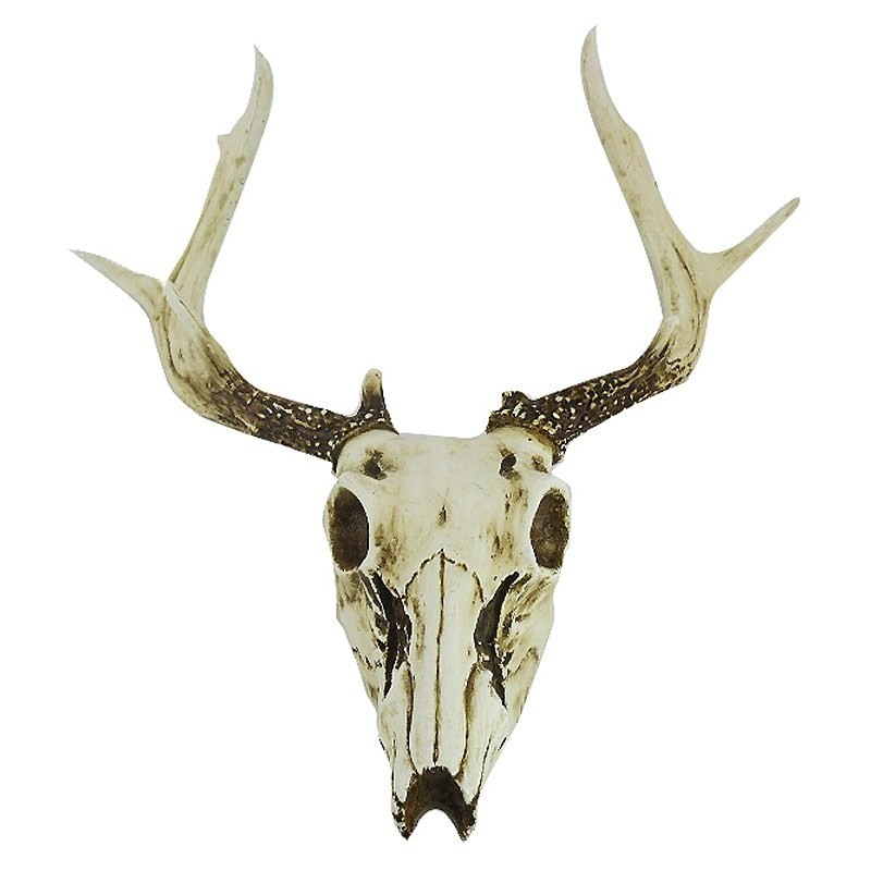 Cow Skull Resin Wall Decor