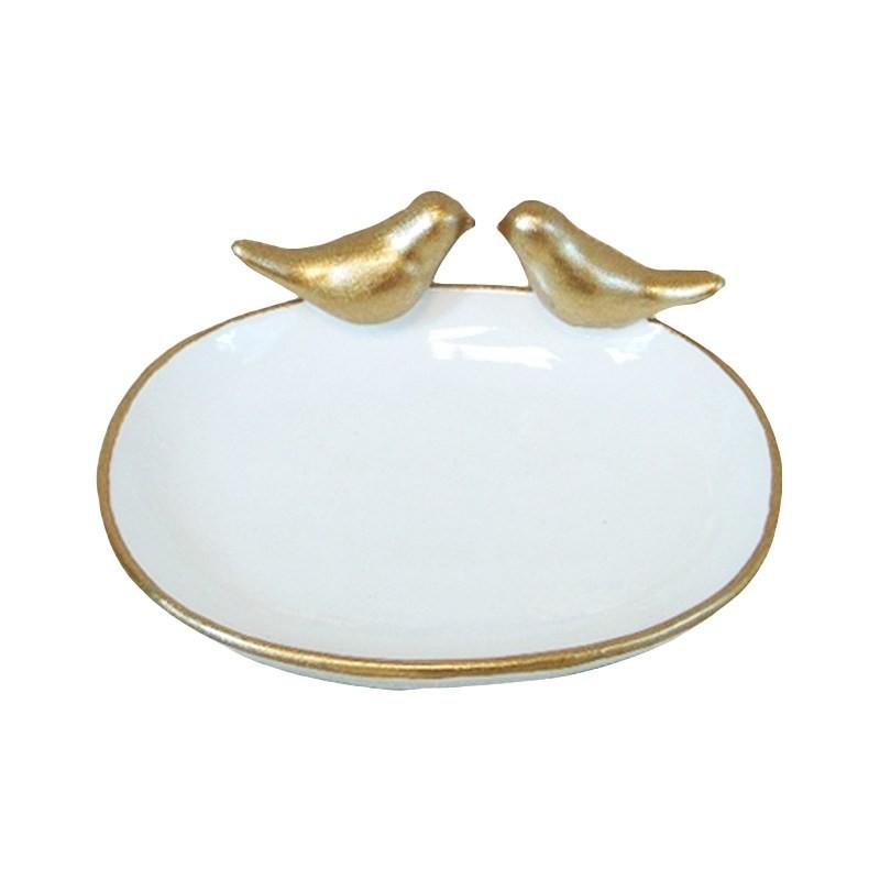 The Golden Bird Resin Ring holder