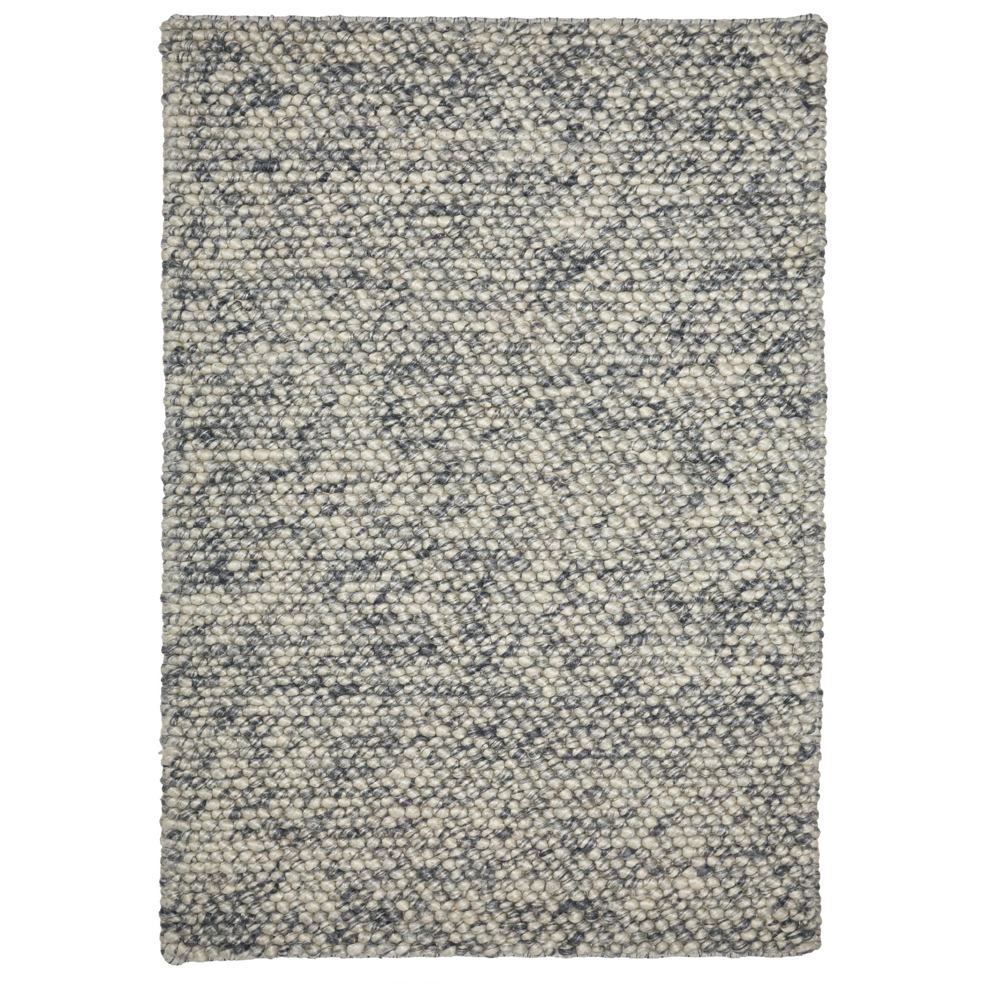 Aspen Handwoven Wool Rug, 160x110cm, Cloud