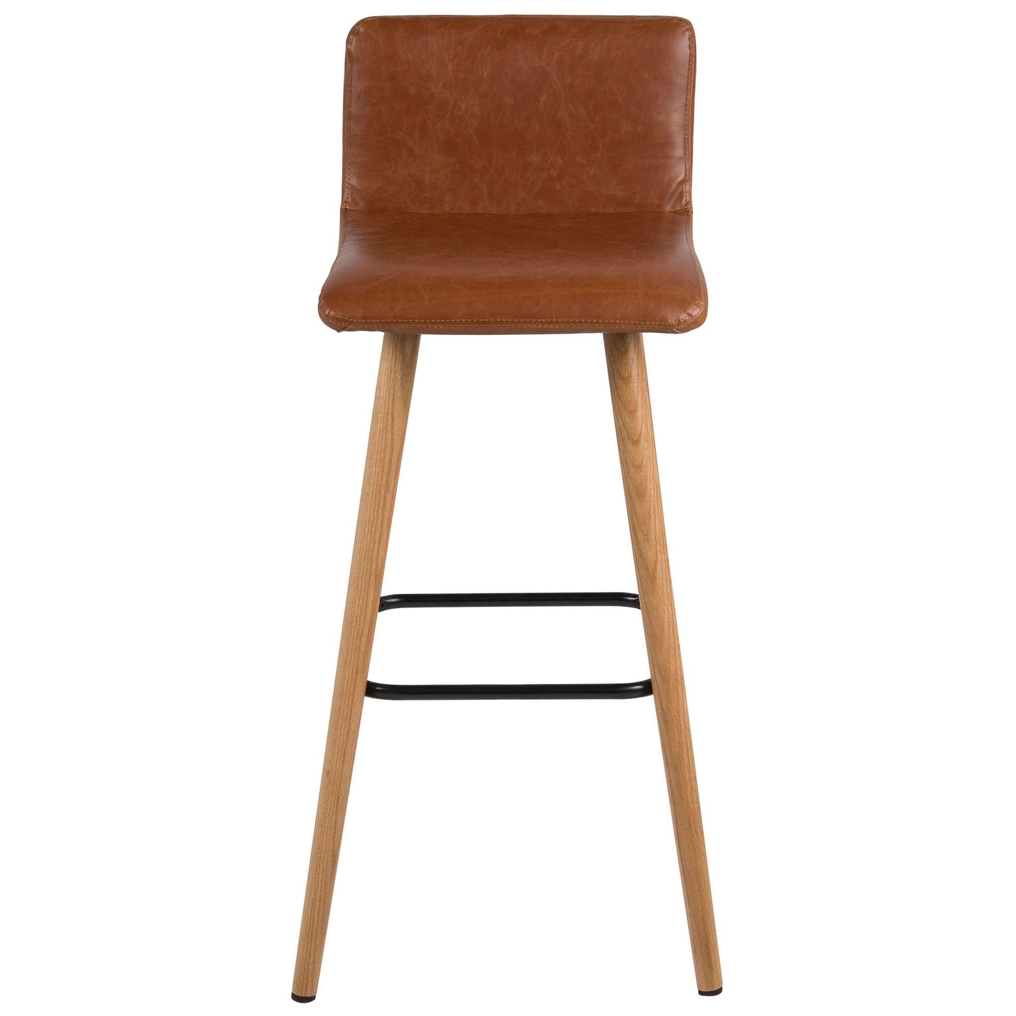 Huxley Faux Leather Counter Stool