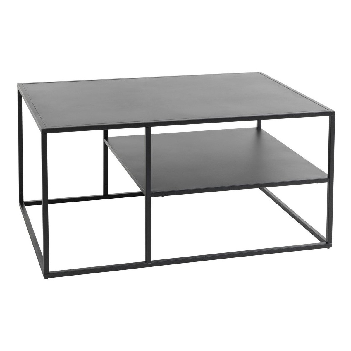Williamson Stainless Steel Coffee Table, 90cm