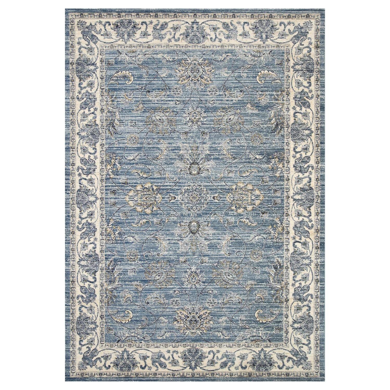 Atlas Saniya Oriental Rug, 120x170cm, Blue