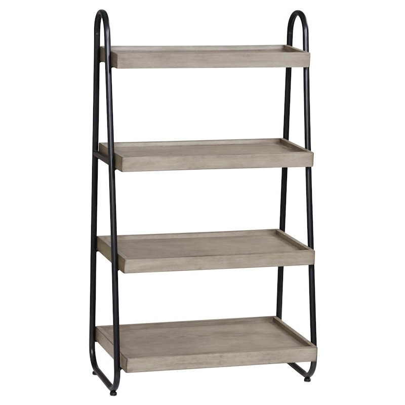 Oxford Timber & Metal Display Shelf