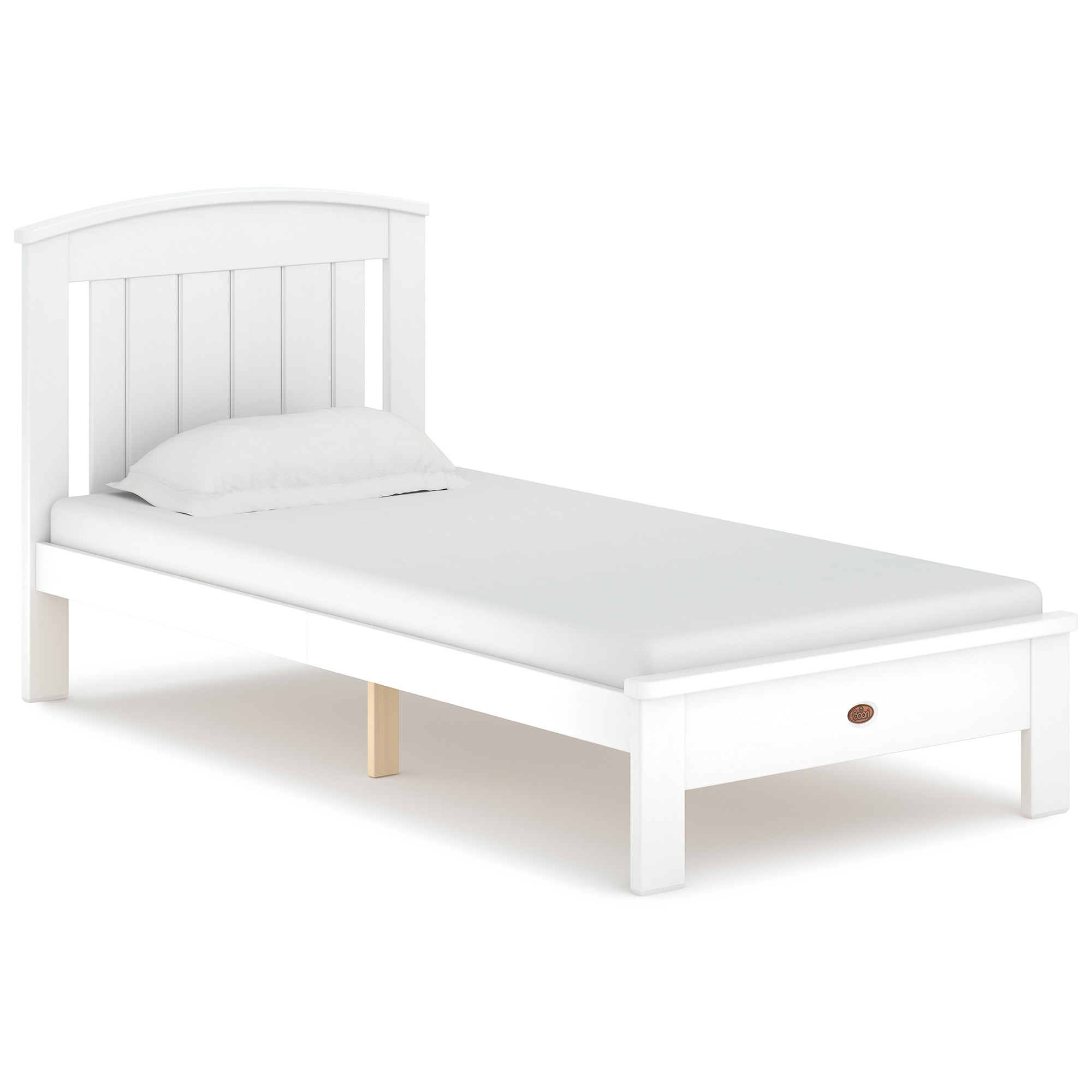 Boori Casa Wooden Bed, Single, Barley White