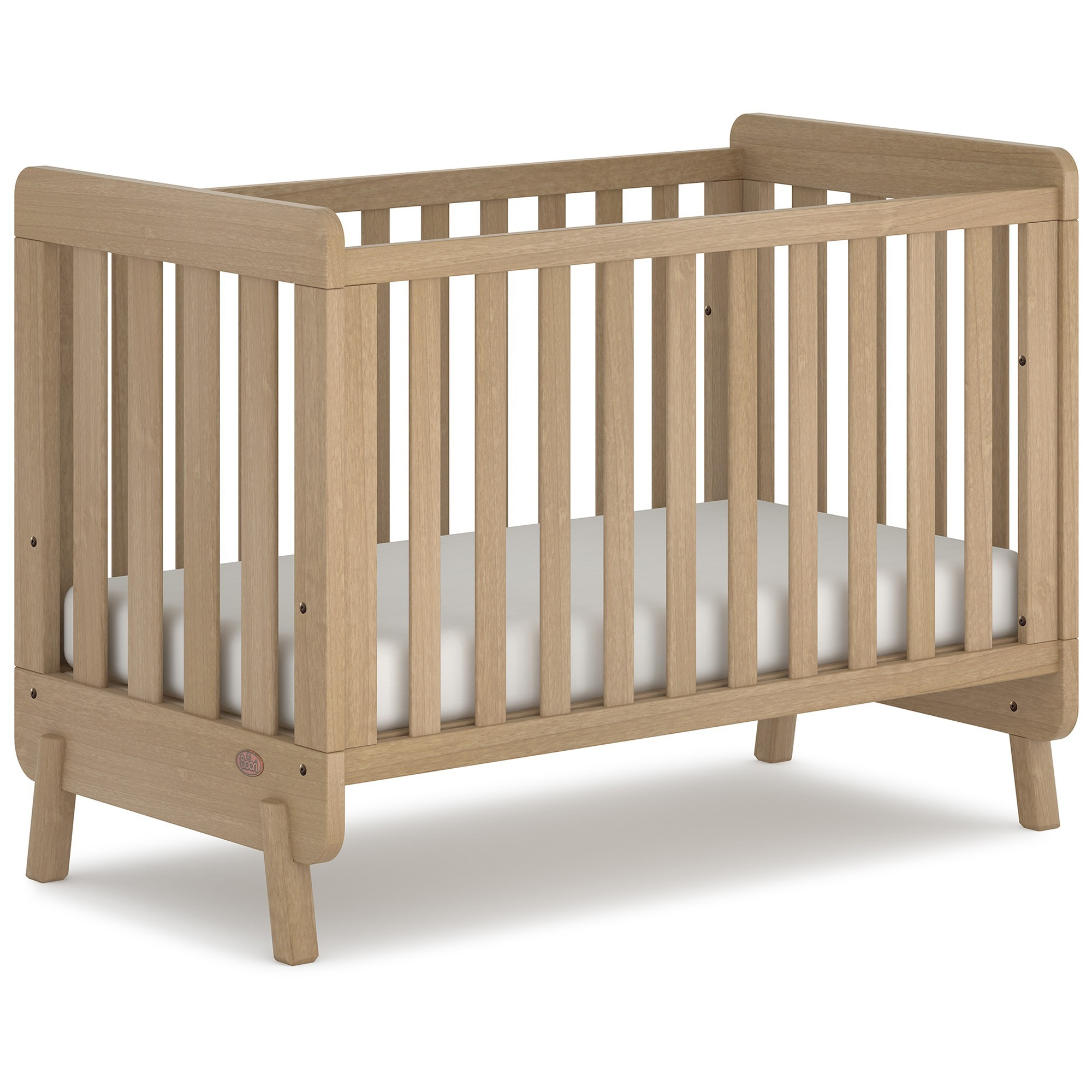 Boori Harbour Wooden Compact Cot, Almond