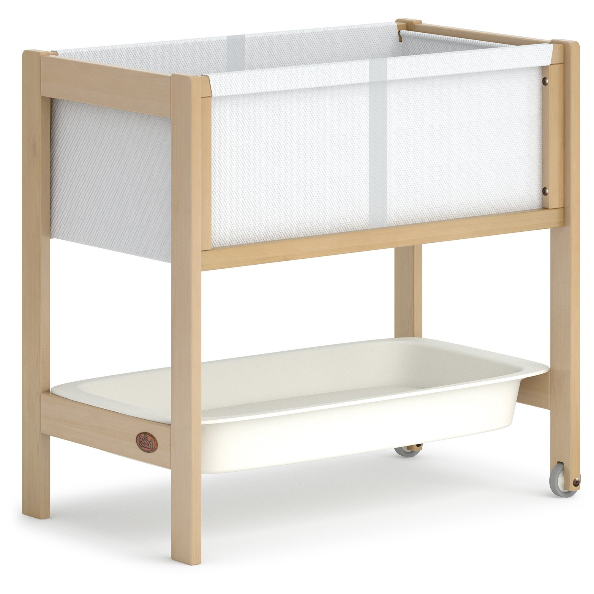 Boori Tidy Wooden Bassinet, Almond