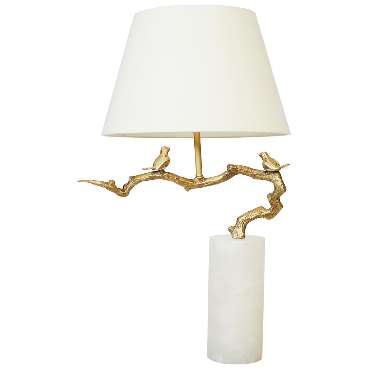 Seance Marble Base Table Lamp