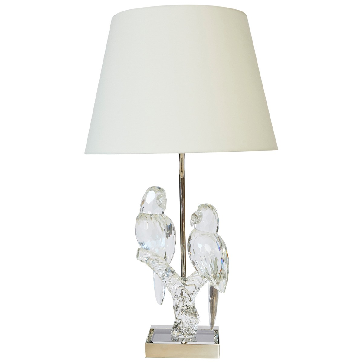 Tweet Crystal Base Table Lamp