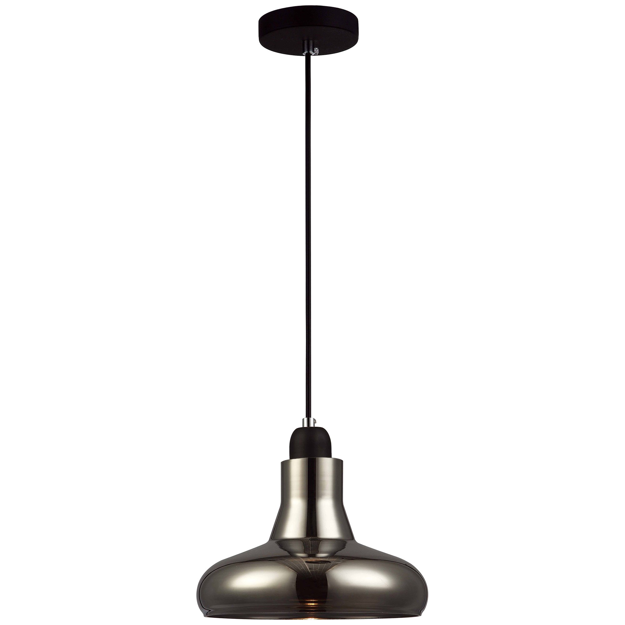 Barrosa Glass Pendant Light, Dome