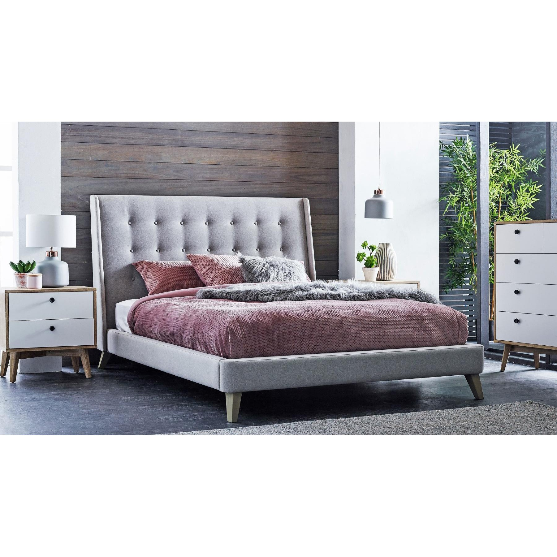 Eva 4 Piece Bedroom Tallboy Suite, Queen