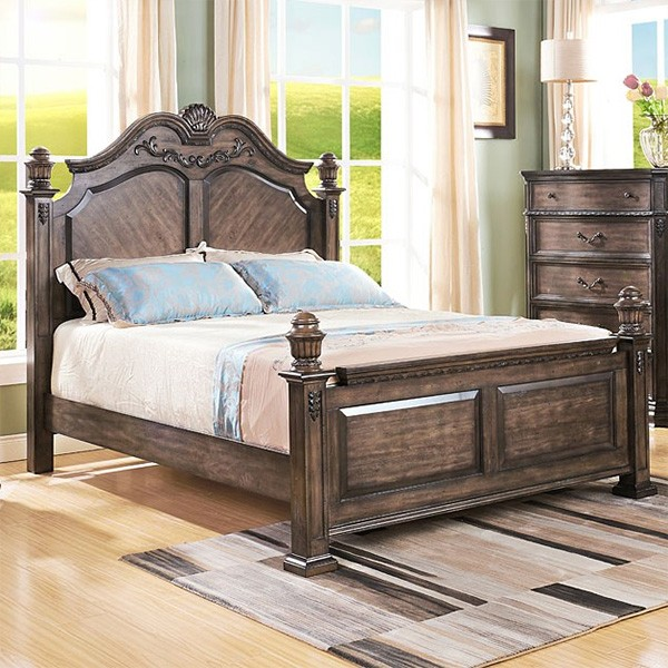 Cranford Solid Timber Bed, Queen