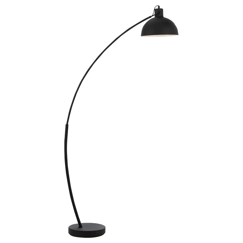 Bear Metal Arc Floor Lamp, Black