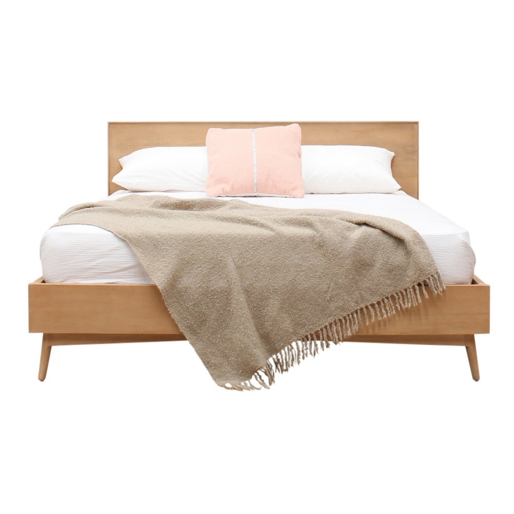 Molton Hand Crafted Mango Wood Bed, King