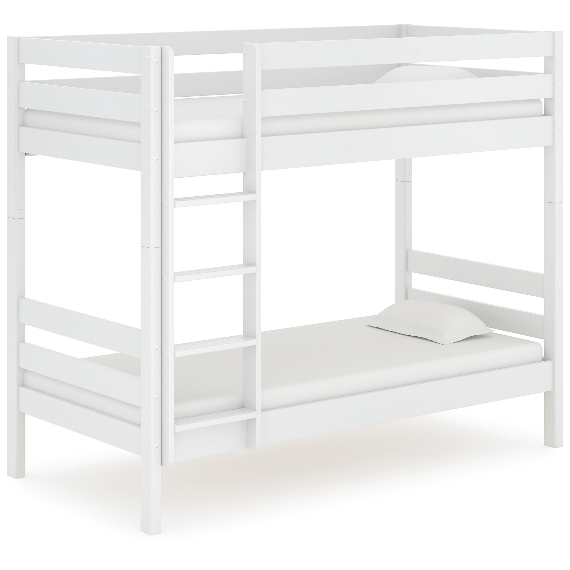 Boori Scout Wooden Bunk Bed, Single, Barley White