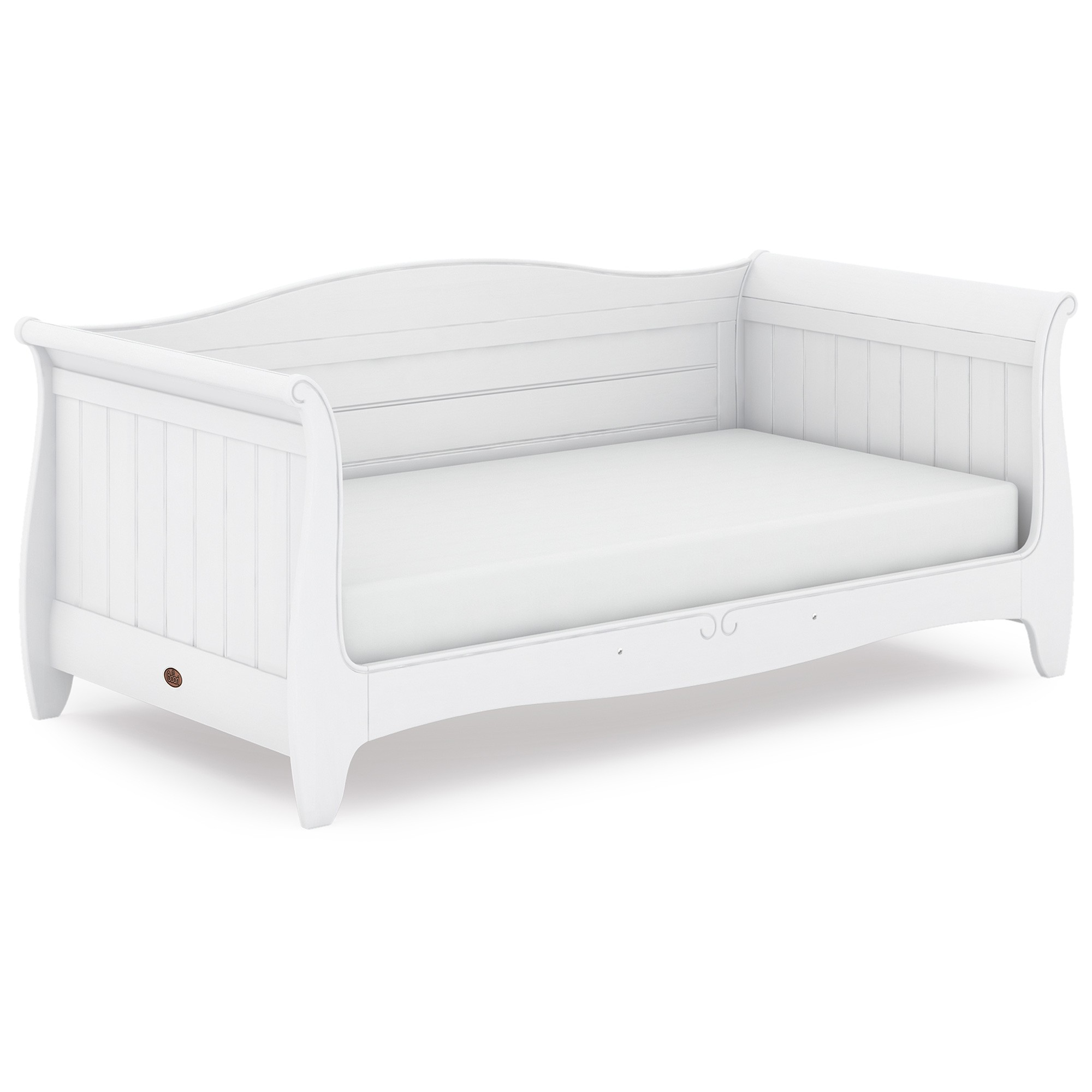 Boori Trinity Wooden Day Bed, King Single, Barley White