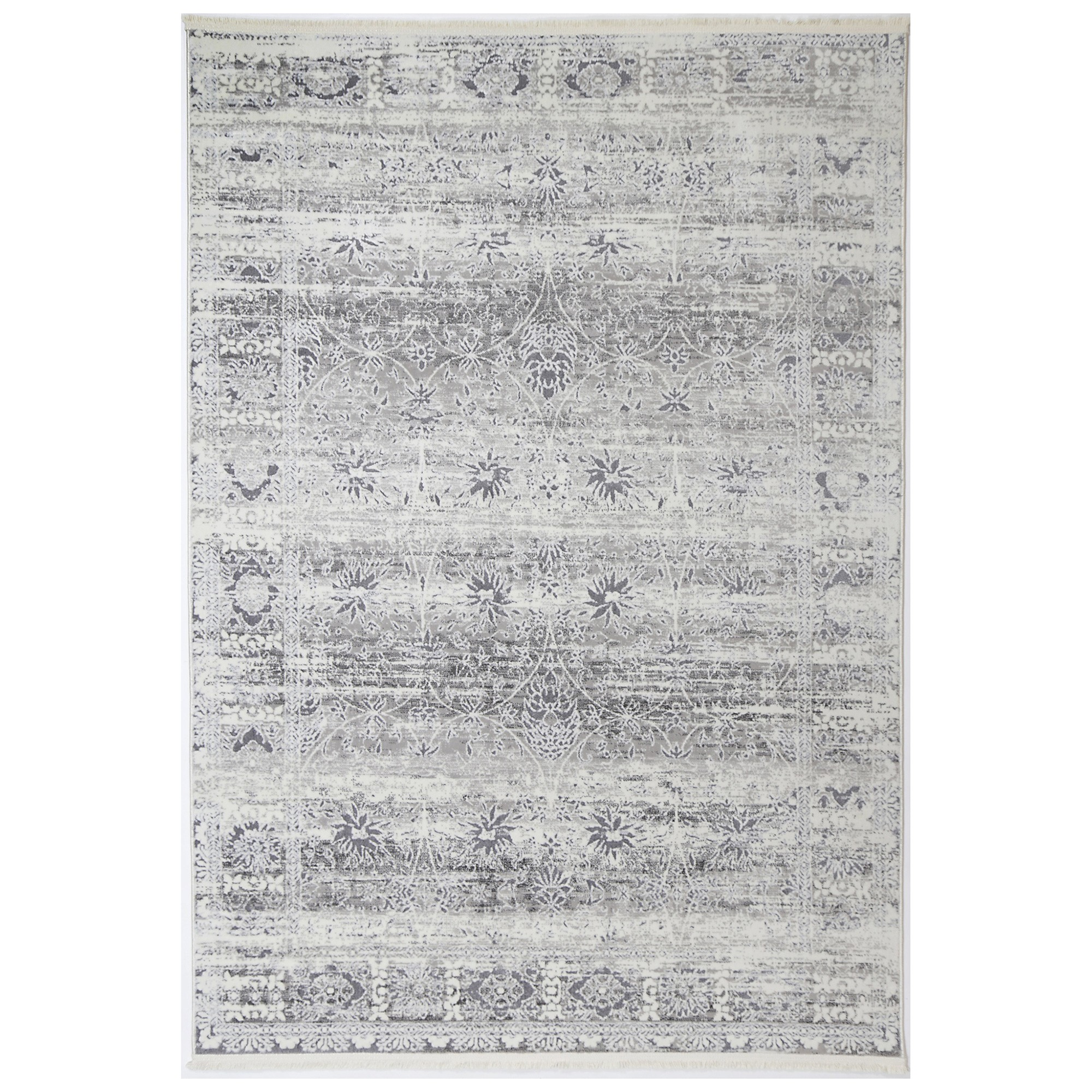Bohemian Paradise No.02 Transitional Rug, 400x300cm, Grey
