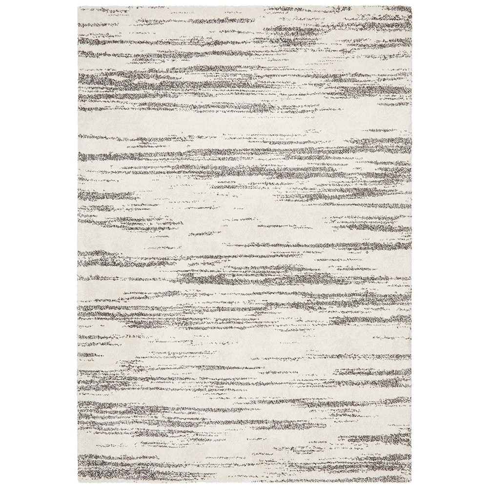 Broadway River Modern Rug, 240x340cm, Charcoal
