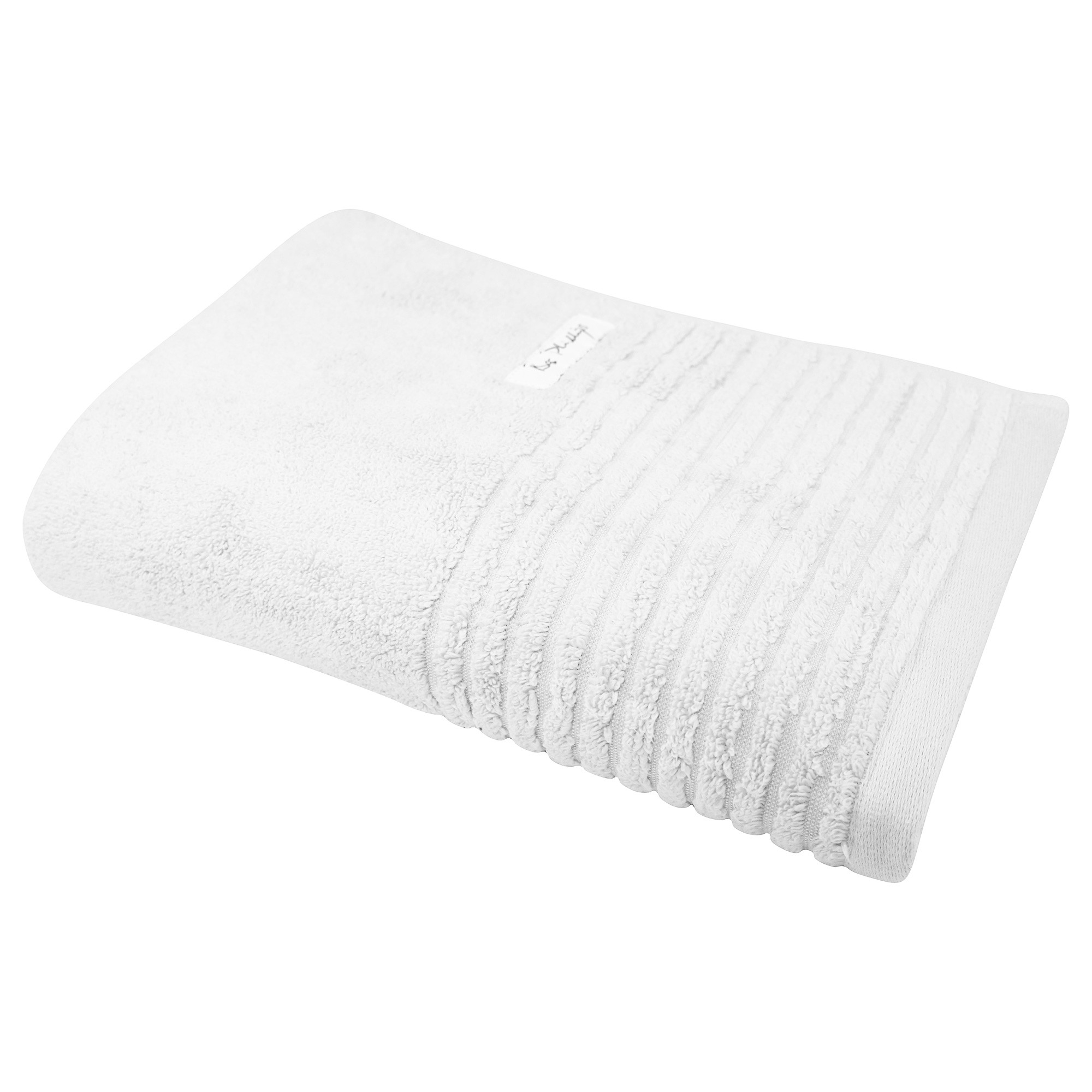 Bas Phillips Hayman Zero Twist Cotton Bath Towel, White