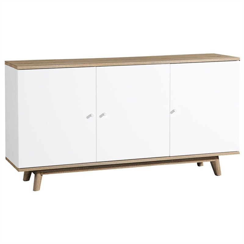 Otta Scandinavian Wooden Buffet Table